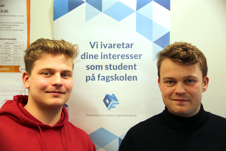 Wictor Østvand Jensen og Jonas Røgeberg ONF Fagskolen Innlandet