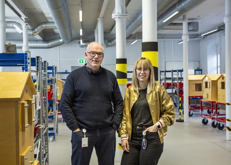 Roy Jakobsen og Emma Østerbø