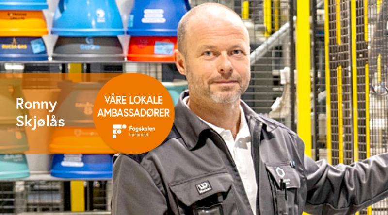 Ronny Skjølås - Production Manager - Hexagon Ragasco AS