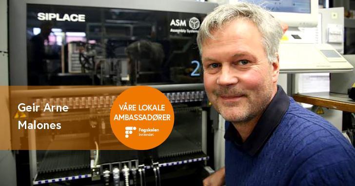 Geir Arne Malones Daglig Leder Topro Elektronikk