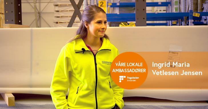 Ingrid Maria Vetlesen Jensen - Logistikk i Moelven Byggmodul AS