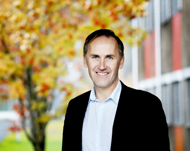 Rektor Gard Tekrø Rolid
